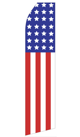 american flag econo stock flag sign formula custom signs