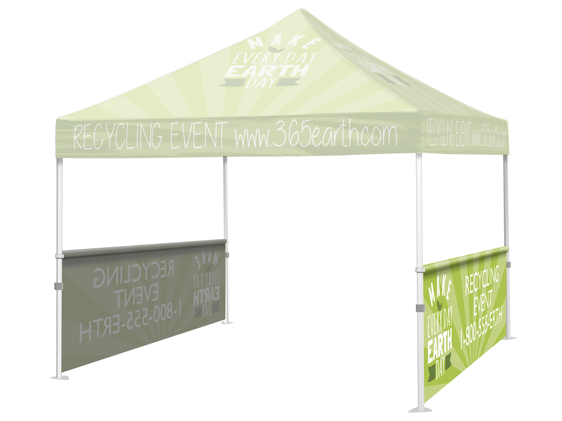 Tent Half Wall (Full Color)  sc 1 st  Sign Formula & Tent Half Wall (Full Color) - Sign Formula - Custom Signs